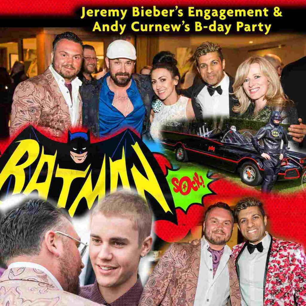Bieber Engagement party