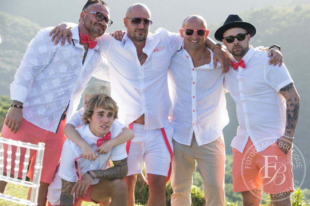 Bieber Wedding - the guys