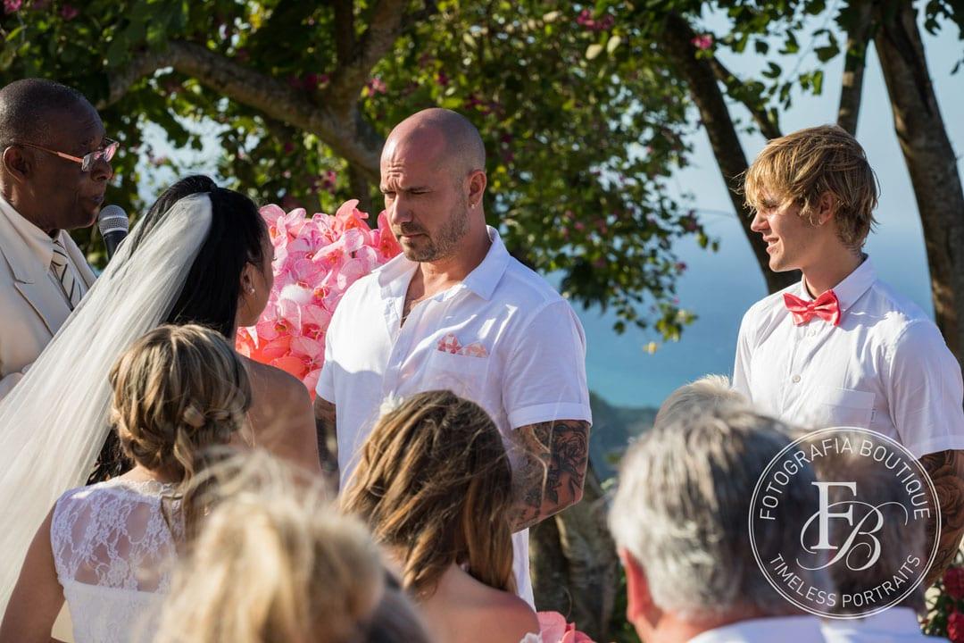 Bieber Wedding - Jeremy & Chelsea Bieber; Justin Bieber best man