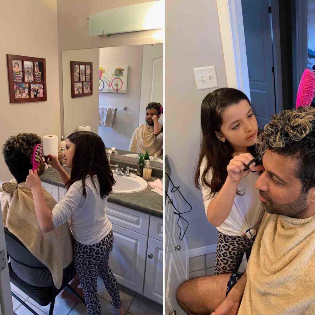 Clara haircut