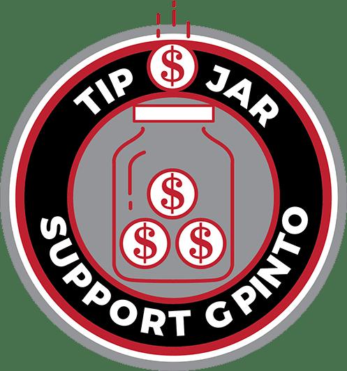 Tip Jar - Support G Pinto
