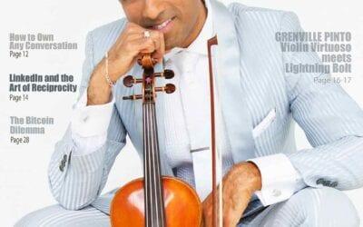Violin Virtuoso meets Lightning Bolt