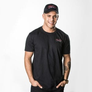 G Pinto - Black T-Shirt Male