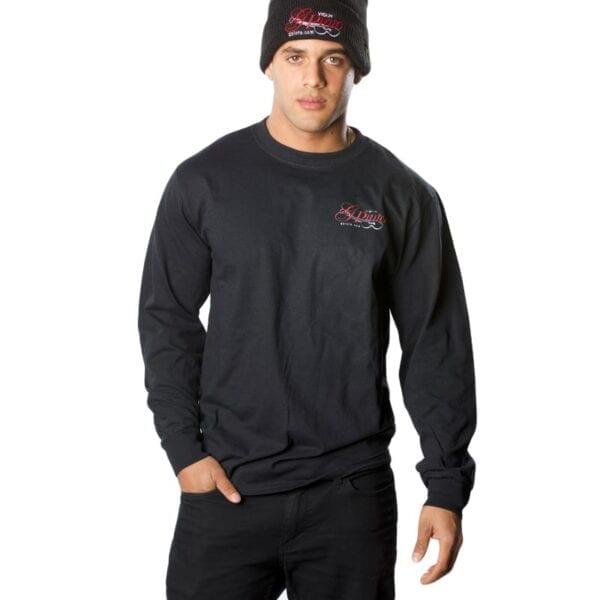 G Pinto - Black Long-Sleeve T-Shirt Unisex