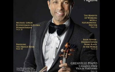 Canada's own Violin Virtuoso: Fire in the Fingers. Passion in the Bow.