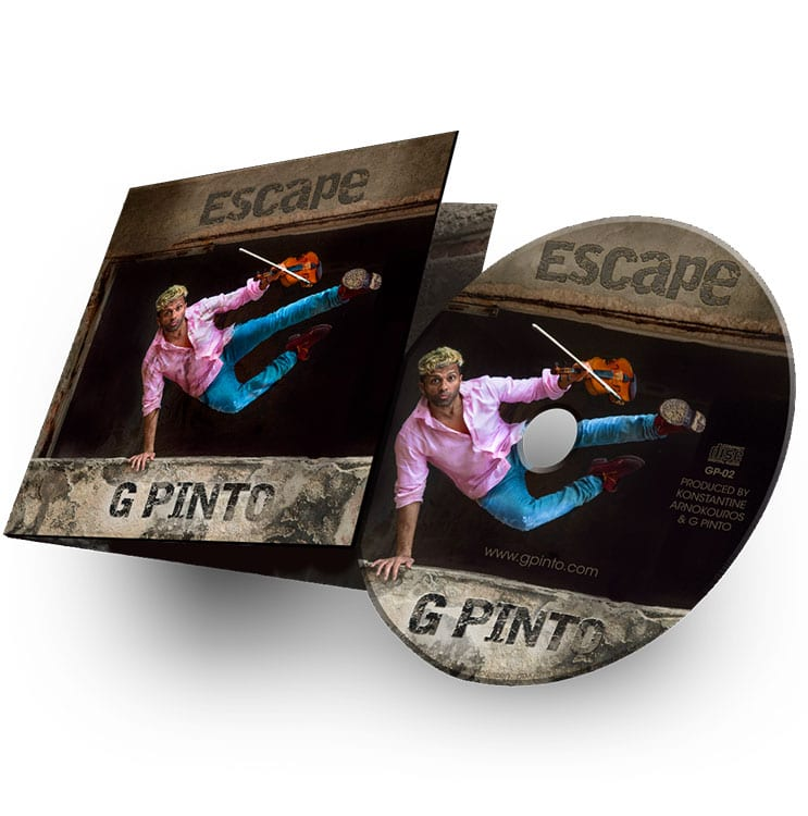 G Pinto - Escape CD Cover