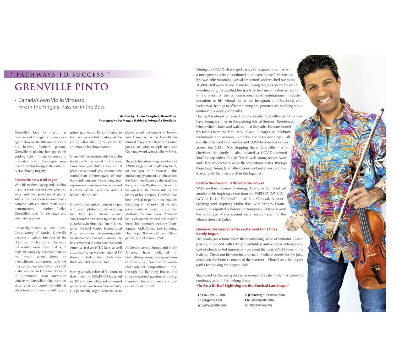 Rosedale Magazine spread